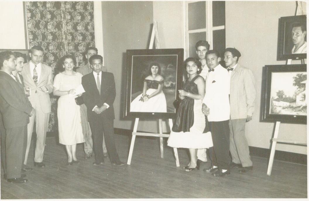 PRIMERA EXPOSICION EN EL CLUB CAMARA DE COMERCIO 15 SEP 1958.jpg